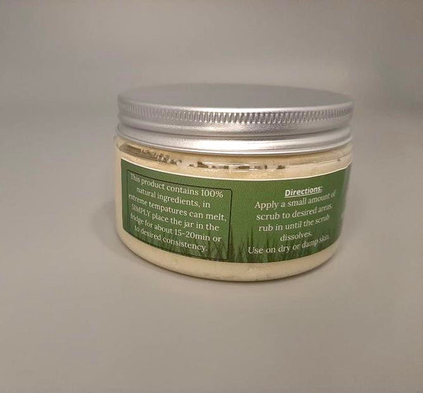 Lemongrass Exfoliating Body Scrub