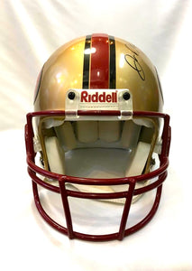 "Proline Helmet | 49ers | Dwight Clark, ""The Catch"""