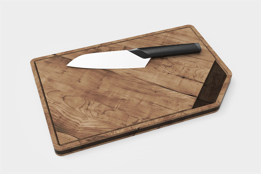 Versatile, durable, and beautiful, this double-sided cutting board and serving platter will only enhance your kitchen.