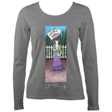 Load image into Gallery viewer, June Lornie: Votes for Women (Women's Long Sleeve t-shirt)