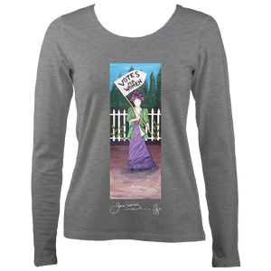 June Lornie: Votes for Women (Women's Long Sleeve t-shirt)