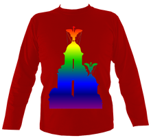 Load image into Gallery viewer, Rainbow - Liver Bird Long Sleeve Tee