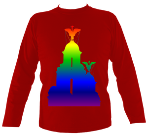 Rainbow - Liver Bird Long Sleeve Tee