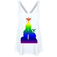 Load image into Gallery viewer, Rainbow: Liver Birds Ladies Workout Vest
