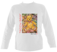 Load image into Gallery viewer, Maxine Shisselle: Teddy Bear#7 (Unisex Long Sleeve)