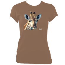 Load image into Gallery viewer, RIVA 2021: Giraffe No.2 (Women's Fitted t-shirt)