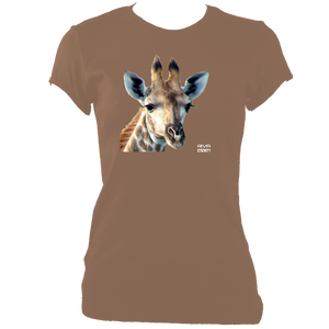RIVA 2021: Giraffe No.2 (Women's Fitted t-shirt)