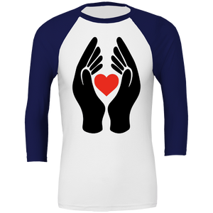 #ClapForOurCarers - Love Hearts All Sport Unisex Baseball Tee