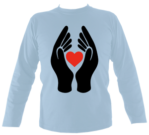 #ClapForOurCarers - Love Hearts Long Sleeve