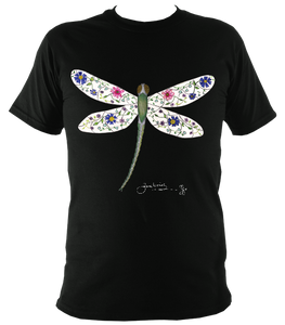 June Lornie: Dragonfly (Unisex Super-soft Top)