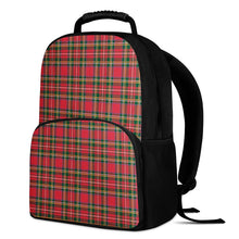 Load image into Gallery viewer, Red Plaid - 17 Inch Felt Backpack