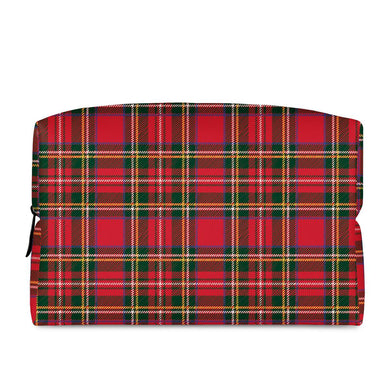 Red Plaid - Cosmetic Bag