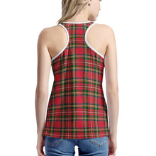 Load image into Gallery viewer, Red Plaid - Women's I-shaped Tank