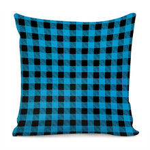 Load image into Gallery viewer, Blue Plaid - Pillow Cover
