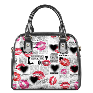 Lips Shoulder Handbags