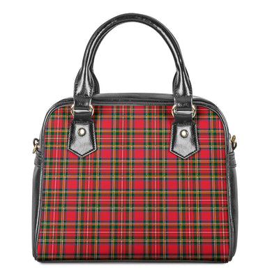 Red Plaid - Shoulder Handbags