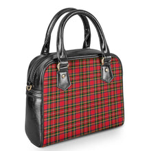 Load image into Gallery viewer, Red Plaid - Shoulder Handbags