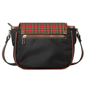 Red Plaid - Saddle Bags