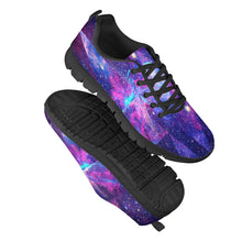 Load image into Gallery viewer, Intergalactic - Black Running Shoes
