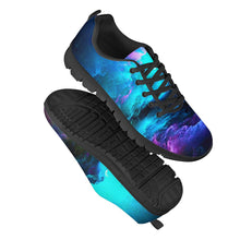 Load image into Gallery viewer, Dream Waves - Black Running Shoes