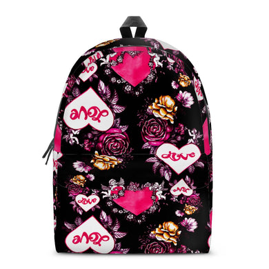 Garden of Love - All Over Print Cotton Backpack