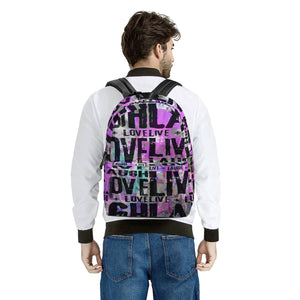 Secret of Life - All Over Print Cotton Backpack