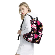 Load image into Gallery viewer, Cupid All Over Print Cotton Backpack