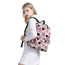 Load image into Gallery viewer, Smooches - All Over Print Cotton Backpack