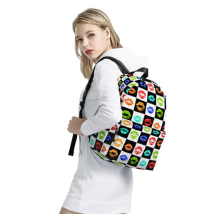 Lots a kisses - All Over Print Cotton Backpack