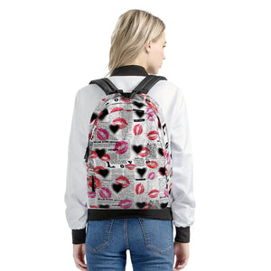 Smooches - All Over Print Cotton Backpack