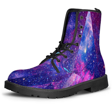 Intergalactic - Leather Boots