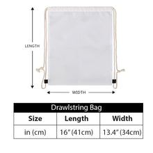 Load image into Gallery viewer, Secret of Life - Drawstring Bags