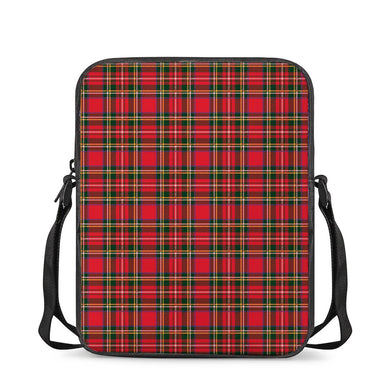 Red Plaid - Cross-Body Bags