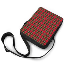 Load image into Gallery viewer, Red Plaid - Cross-Body Bags