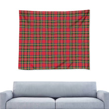 Load image into Gallery viewer, Red Plaid - Wall Tapestry