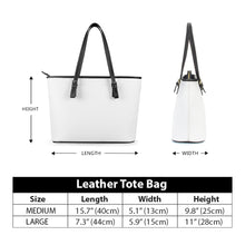 Load image into Gallery viewer, Secret of Life - Leather Tote Bags