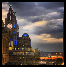 Load image into Gallery viewer, 59 - Liver Building in Blue - 2020