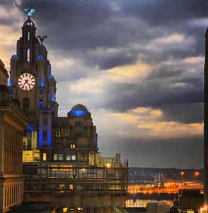 59 - Liver Building in Blue - 2020