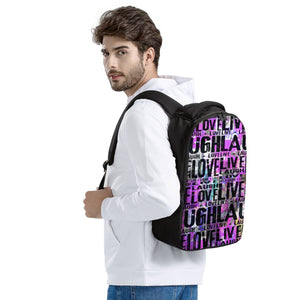 Live Laugh Love Laptop Backpack