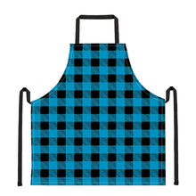Load image into Gallery viewer, Blue Plaid - Apron