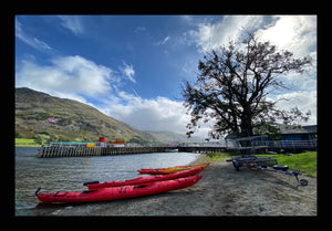 44 - Three Red Canoes, Ullswater, Penrith - 2020