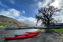 Load image into Gallery viewer, 44 - Three Red Canoes, Ullswater, Penrith - 2020