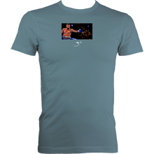 Load image into Gallery viewer, Zarate Bellew: Men's Fitted Tee (Black, Navy or Stone Blue)