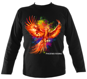 Phoenix Rising Long Sleeve Tee