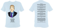 Load image into Gallery viewer, #2 Dr Patterson's Fans - Adult T-shirt (10 colours)