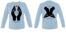 Load image into Gallery viewer, #ClapForOurCarers - Long Sleeve (printed front & back)