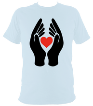 Load image into Gallery viewer, #ClapForOurCarers - Love Hearts Short Sleeve
