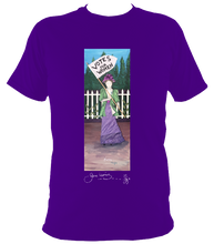 Load image into Gallery viewer, June Lornie: Votes for Women (Unisex Short Sleeve t-shirt)