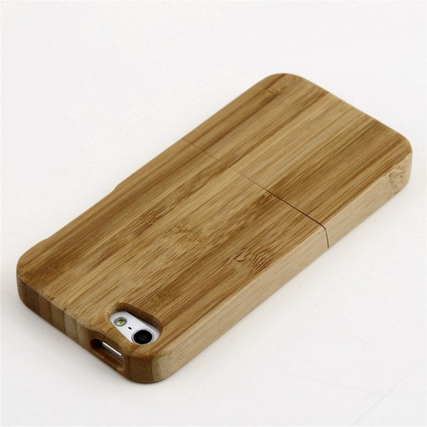Bamboo Wood Case Cover For iphone