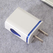 Phone Universal 2.1A 5V LED 2 USB Charger